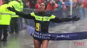 News video: Desiree Linden Just Became the First American Woman to Win the Boston Marathon in Three Decades
