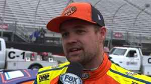 News video: Ricky Stenhouse Jr. on disappointing final restart at Bristol | 2018 BRISTOL MOTOR SPEEDWAY | FOX NASCAR