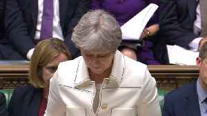 News video: British and French leaders defend Syria strikes