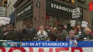 News video: Starbucks: Manager No Longer Works At Rittenhouse Square Store Following Viral Video Of Arrests