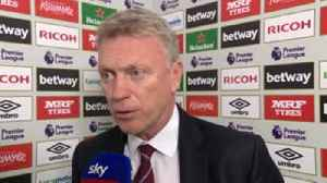 News video: Moyes: We're in a good position