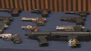 News video: Police Find Huge Cache Of Guns, Ammo In Neighborhood House