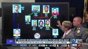 News video: Officials announce 'takedown' of local drug organization, 11 arrested