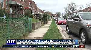 News video: Pizza Boli's employee punched in the face, robbed while making delivery