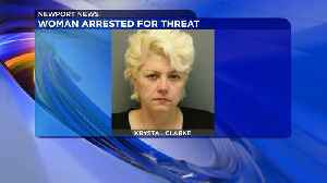 News video: Woman Arrested for Allegedly Threatening to Blow Up Rental Office