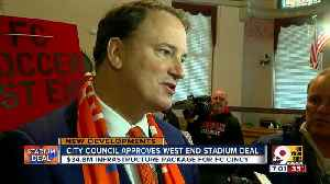 News video: City council approves West End stadium deal