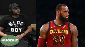 News video: LeBron James TROLLED After Embarrassing Loss, Steph Curry SHADES Media! | Huddle