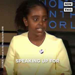 News video: Naomi Wadler Speaks At The Women In The World Summit
