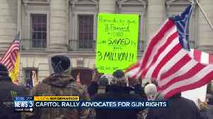 News video: Capitol rally advocates for gun rights