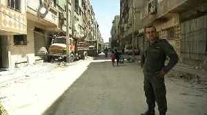 News video: Chemical weapons experts enter Syrian attack town