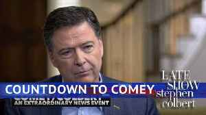 News video: Late Show's James Comey Hype Video