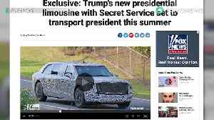 News video: Trump's presidential limo will be ready this summer - TomoNews