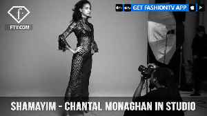 News video: Shamayim TV Presents Model Chantal Monaghan Behind-The-Scenes in Studio | FashionTV | FTV