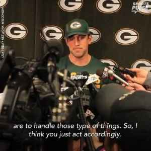 News video: Aaron Rodgers knows his role and trusts the process