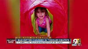 News video: Babysitter charged in toddler death
