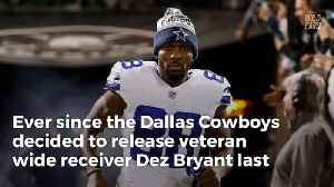 News video: Dez Bryant Breaks Silence On 'Crazy' Chance Of Playing With Eli Manning