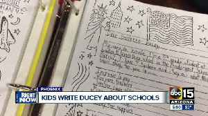 News video: Students write letters to Gov. Ducey asking for teacher raises