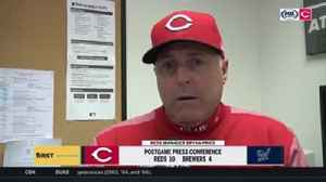 Bryan Price praises Luis Castillo for giving the Reds quality innings [Video]