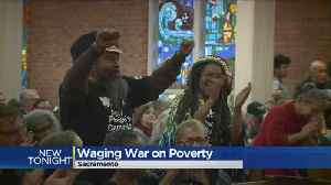 News video: 50 Years Later, Poor People's Campaign Sees Revival In Sacramento