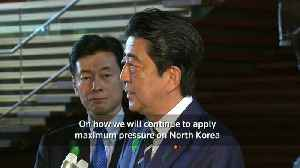 News video: Japan PM Shinzo Abe says Trump summit will focus on North Korea