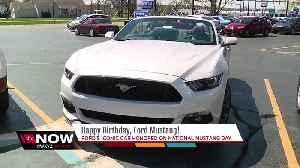 News video: National Mustang Day 2018