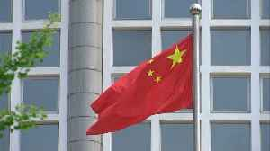 News video: China's warning after U.S. bans sales to ZTE