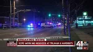 News video: Police investigate shooting death of man found in car at Truman and Hardesty