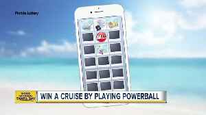News video: Win a cruise by playing Powerball in Florida