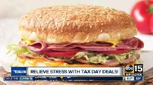 News video: Get free and cheap food on Tax Day