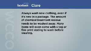 News video: Viewers Weigh In On Washing New Clothes