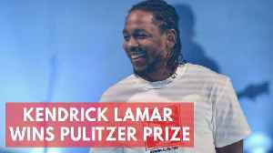News video: Rapper Kendrick Lamar wins Pulitzer Prize for music