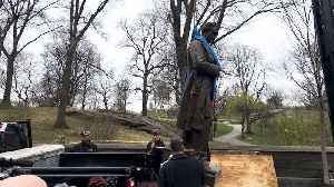 News video: Controversial 'Father of Gynecology' Statue Gets Removed from Central Park