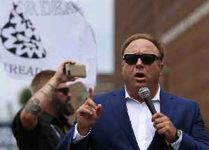 News video: Alex Jones sued over claims about Sandy Hook mass shooting