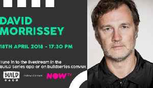 News video: Live From London: David Morrissey