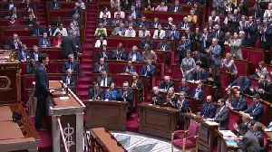 News video: Justin Trudeau addresses French National Assembly