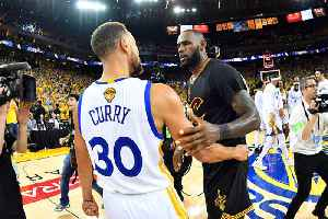 News video: Stephen Curry tops LeBron James in NBA Jersey Sales This Season