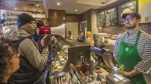 News video: Starbucks in L.A. Accused of Racism After Incident Caught on Video