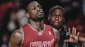 """News video: Dwayne Wade SILENCES Kevin Hart, Then Goes Home to Wife For """"Adult Stuff""""   2018 NBA Playoffs"""