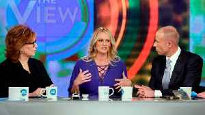 News video: Stormy Daniels on 'The View', annotated