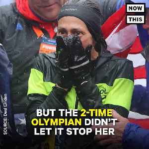News video: Desiree Linden Becomes First U.S. Woman In 33 Years To Win Boston Marathon