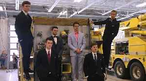 News video: Teens Take Prom Photos at Fire Station After Snowstorm Cancels Prom