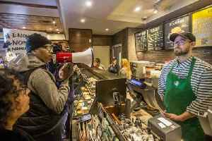 News video: Starbucks to close all its stores for one day next month for 'racial bias training'