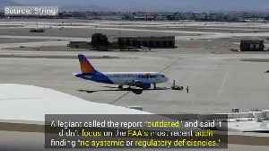 News video: Allegiant Airlines Safety Concerns