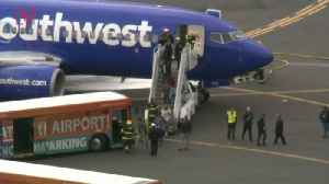 News video: One Person Dead After Major Engine Failure on Southwest Flight