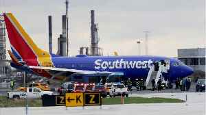 News video: One Dead After Southwest Plane Suffers Engine Failure