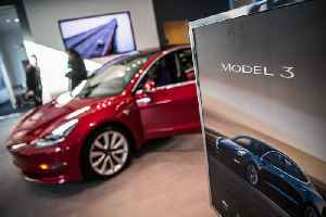 News video: Tesla Temporarily Halts Production of Model 3