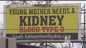 News video: Mom Who Needs Kidney Transplant Puts Plea On Lynn Billboard