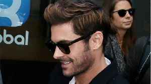 News video: Zac Efron Cheers On Brother At Boston Marathon