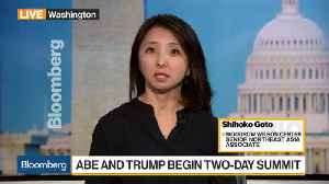 News video: What to Expect From Florida Summit for Abe and Trump