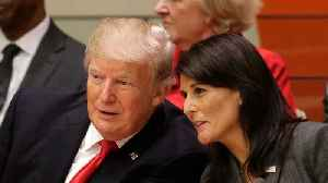 News video: Nikki Haley Blamed for Muddled Plans on Russia Sanctions